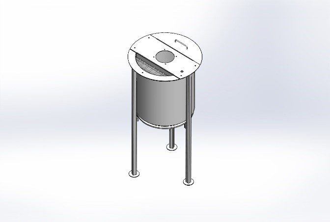 toffee mixing tank 1